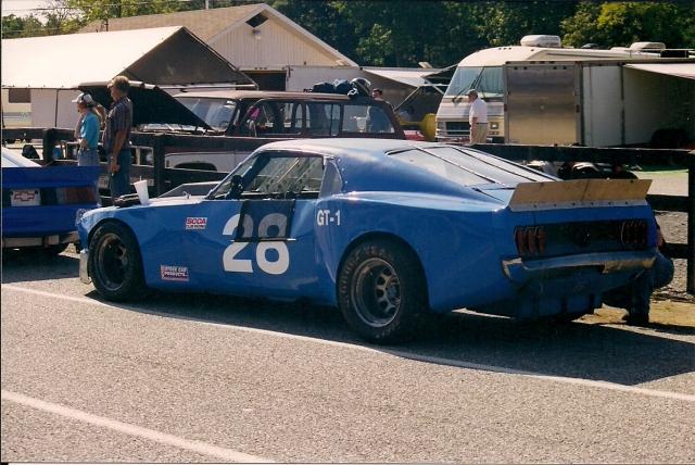 My first GT1 car.